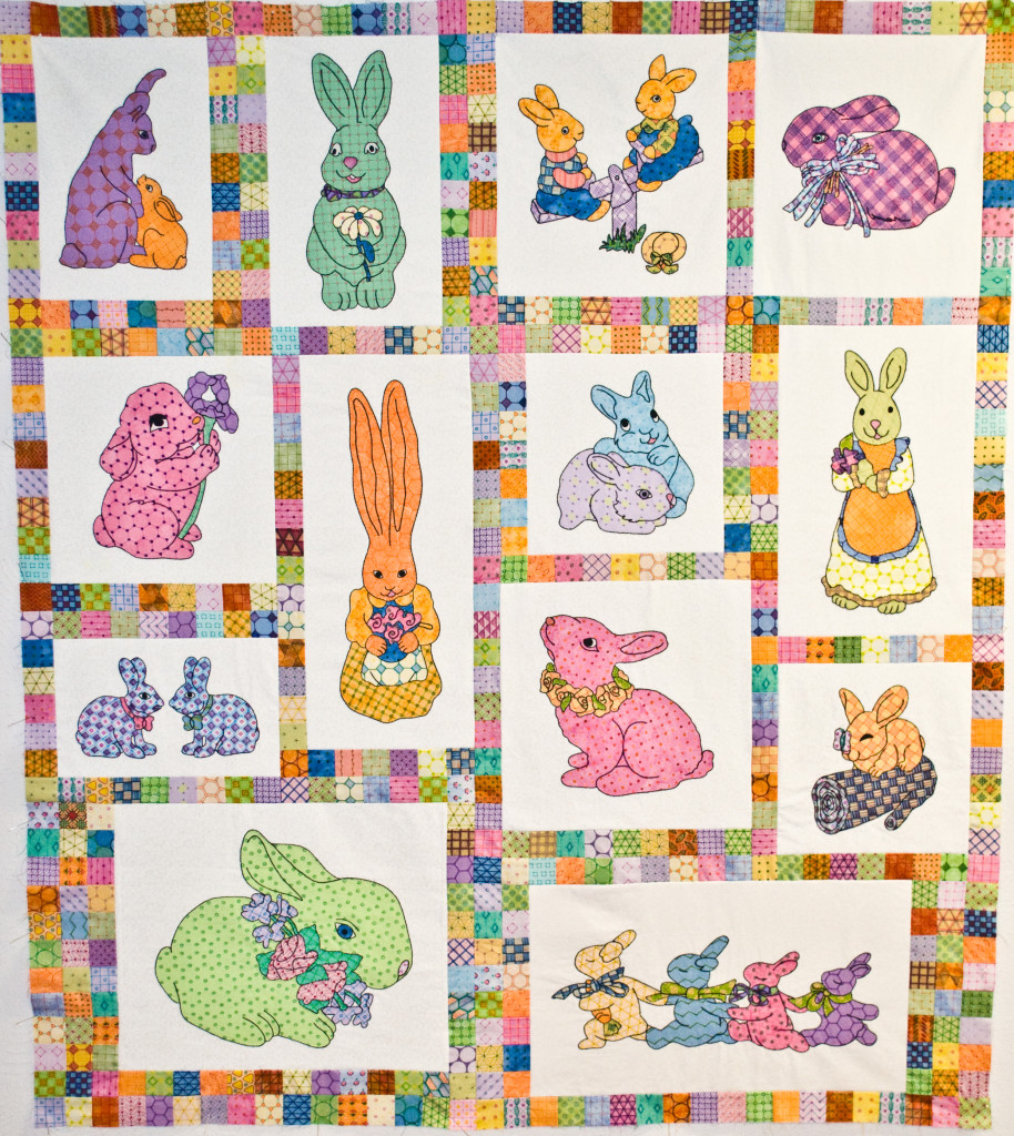 Another By Anita Bunny Quilt