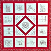 Digitized Spirit of Texas Quilt