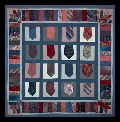 Necktie Quilt ABA10020