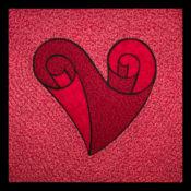 Swirl Heart ABA7201