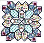 Hexagon Happiness Set A Pattern